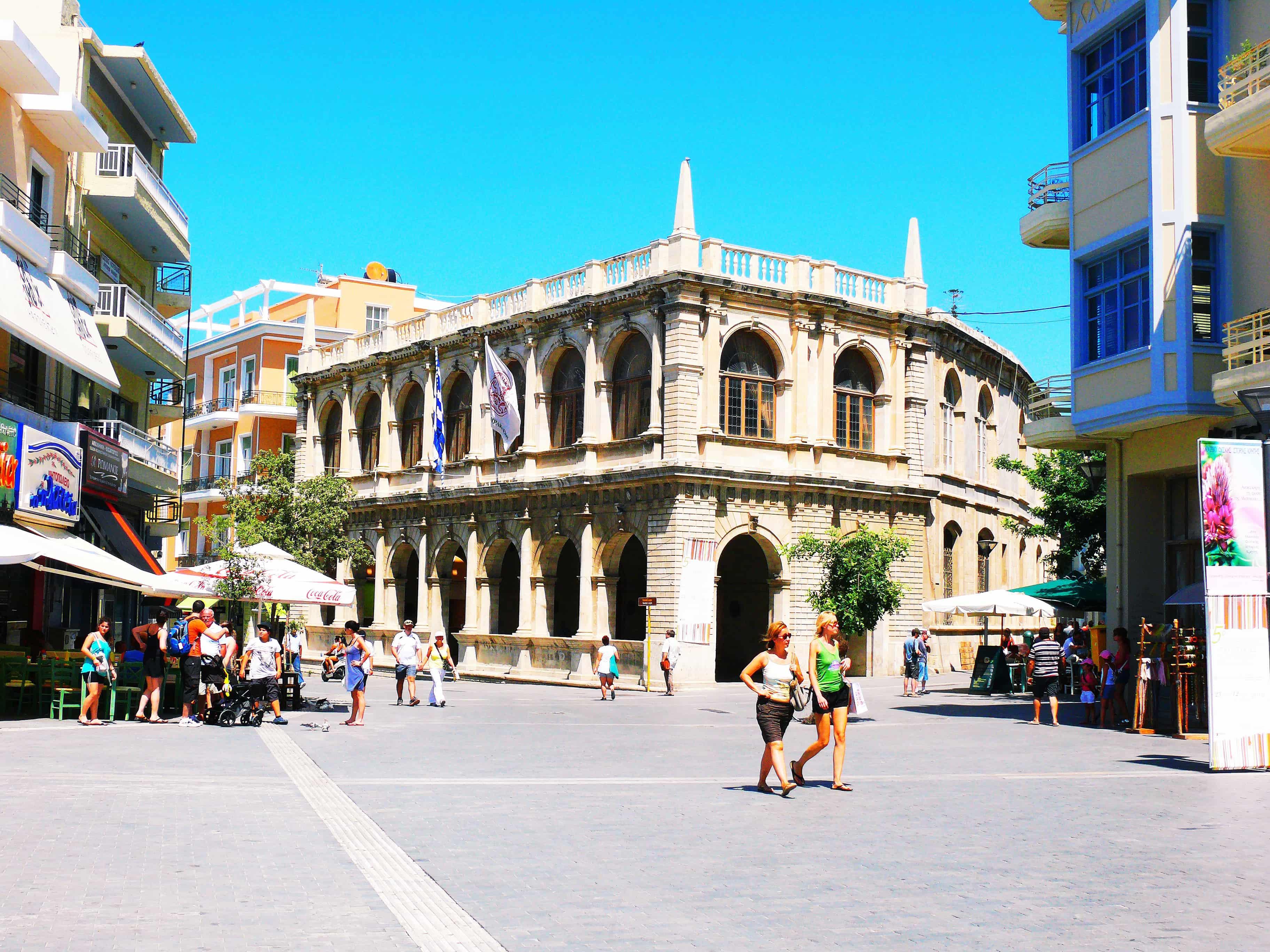Heraklion town - Heraklion/Knossos - Bali
